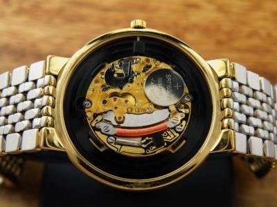 reloj omega deville quartz caballero