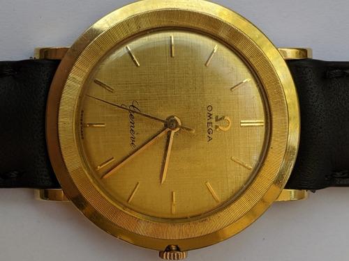 reloj omega genève oro 18k