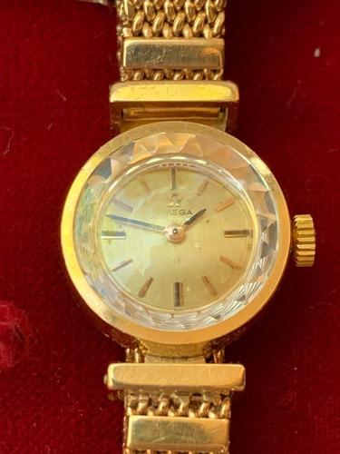 reloj omega oro 18k mujer vintage