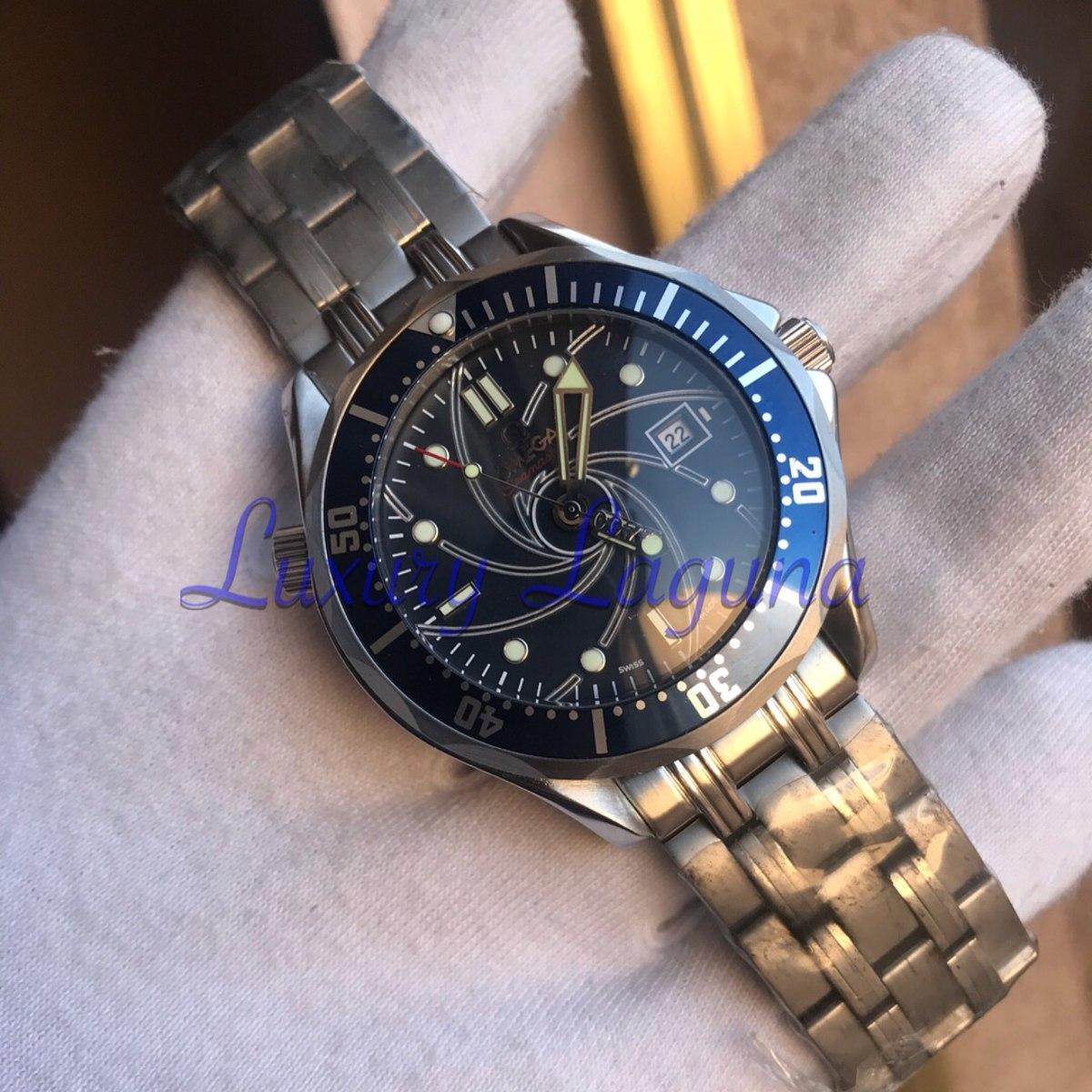 código promocional 66fe2 9aacb Reloj Omega Seamaster 007 James Bond Edition