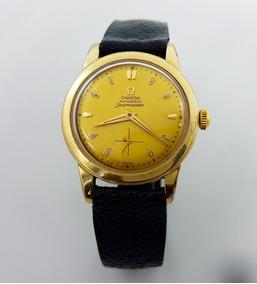 comprar auténtico liberar información sobre 60% barato Reloj Omega Seamaster Chapa De Oro Antiguo Automatico