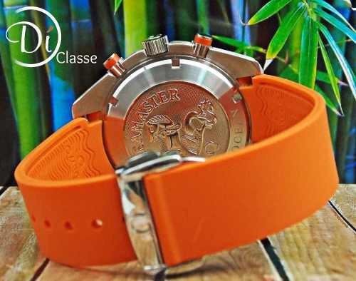 reloj omega seamaster co-axial cronos orange