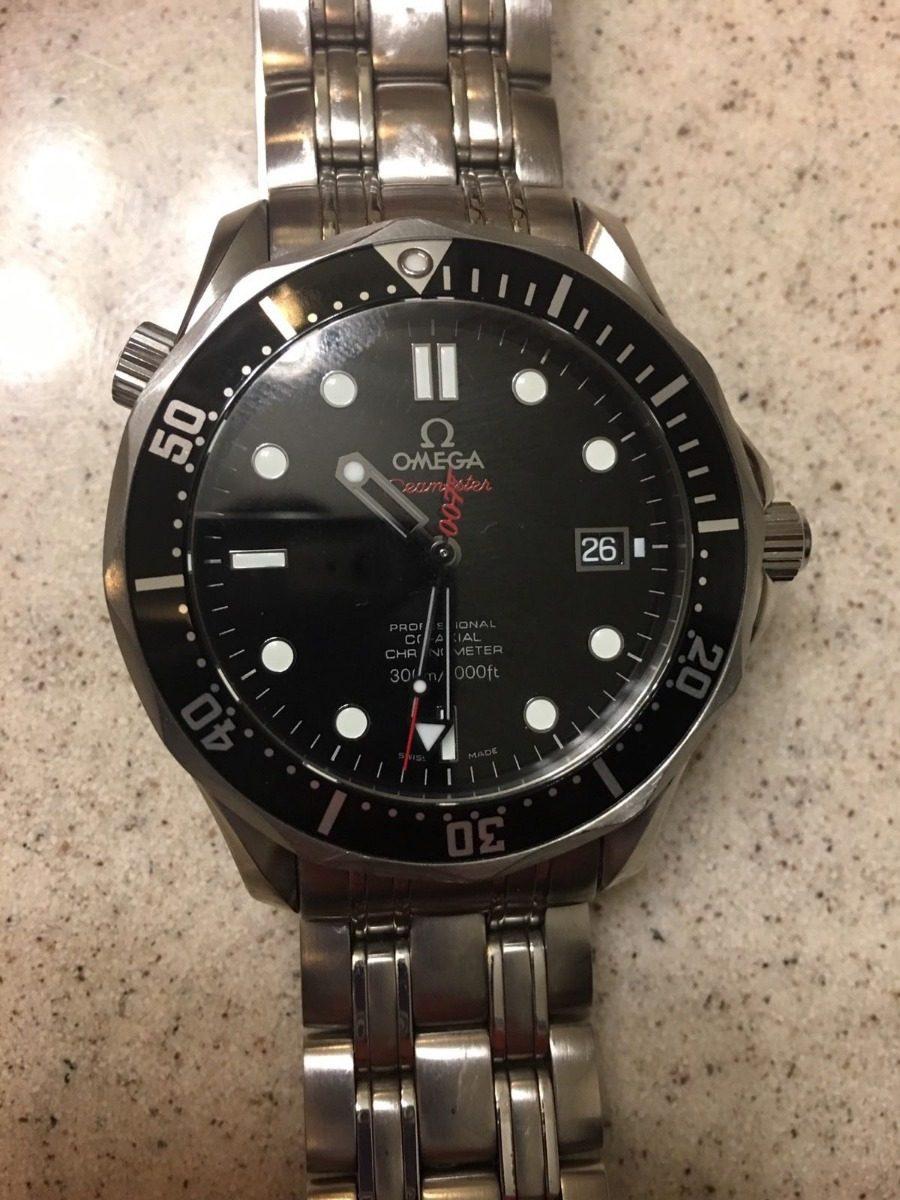 07e671e3782 Reloj Omega Seamaster James Bond 007  08612 Edición Limitada ...