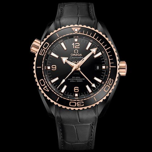 reloj omega seamaster ocean planet 600m co-axial deep black