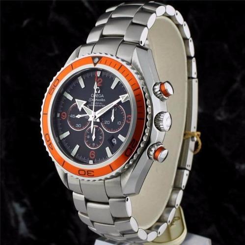 reloj omega seamaster planet ocean  edicion naranja