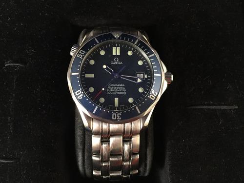 reloj omega seamaster pro 300m de acero