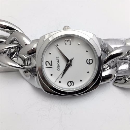 reloj ona saez os5113acbl mujer   original envío gratis