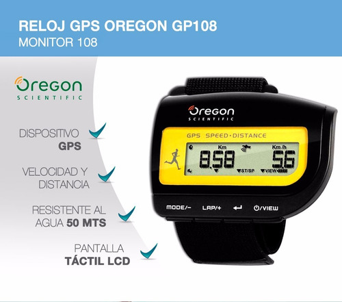 reloj oregon gp108 tienda oficial!!! envió gratis!!