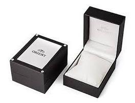 reloj orient acero cqb2u005b original acero garantia oficial