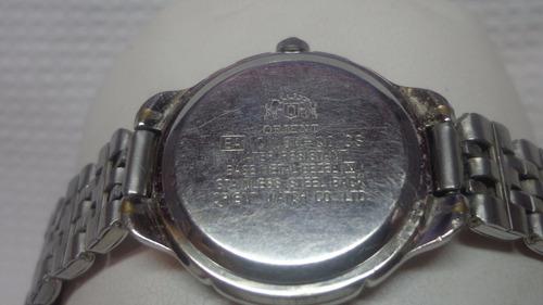 reloj orient analogo de dama.