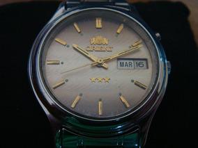 234342f6aa27 Reloj Orient Dorado Automatico - Joyas y Relojes en Mercado Libre México