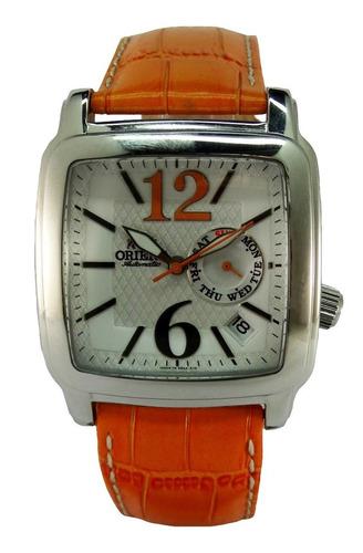 reloj orient automatico cesaa004w calendario acero garantia