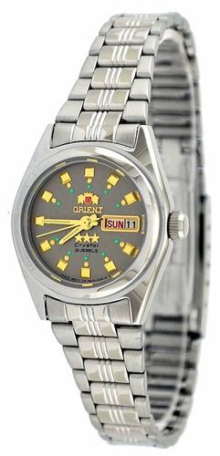 reloj orient bnq1x003k plateado
