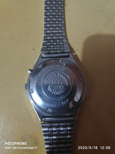 reloj orient crystal 21 jewels