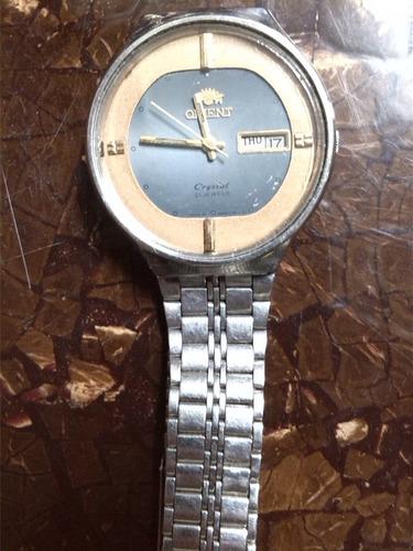 reloj orient crystal 21 jewels automatico de coleccion
