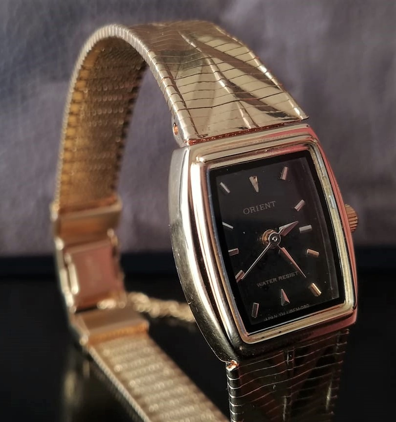 reloj orient dama dorado delgado. Cargando zoom. d4eb08100ce8