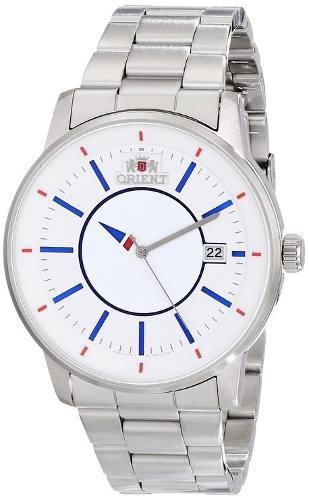 reloj orient fer0200fd0 plateado masculino