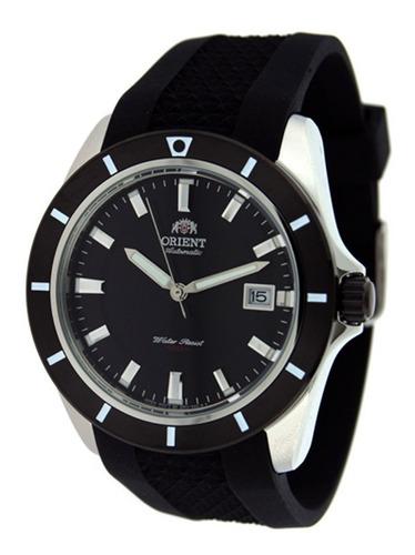 reloj orient fer1v004b0 hombre silicona automatico 100mts