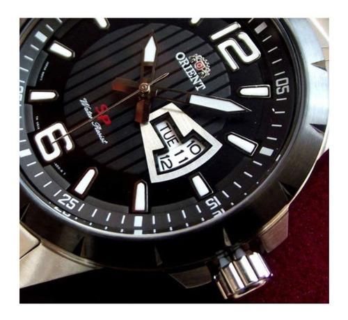 reloj orient hombre acero sumergible acero fug1x001b