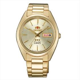 Reloj Orient Hombre Automático Dorado Original Envío Gratis