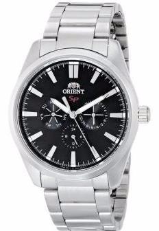 reloj orient multifunción original acero garantia oficial