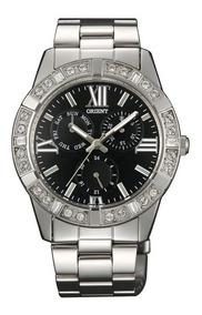 Multifunción Garant Cristales Reloj Orient Quartz Swarovski b7gf6Yy