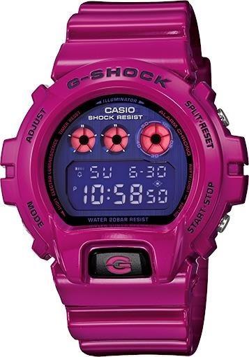 aff45cd4cf5f Reloj Orig Casio G-shock Resina Fucsia 200m Dw-6900pl-4dr ...