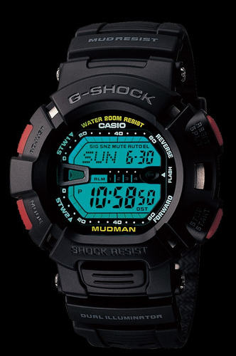 reloj original casio® g shock mudman 200 mts nuevo garantía