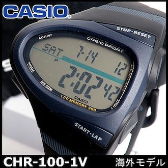 0e31302103a7 Reloj Original Casio® Phys Chr-100 Pulsómetro 50 Mts Nuevo - Bs ...