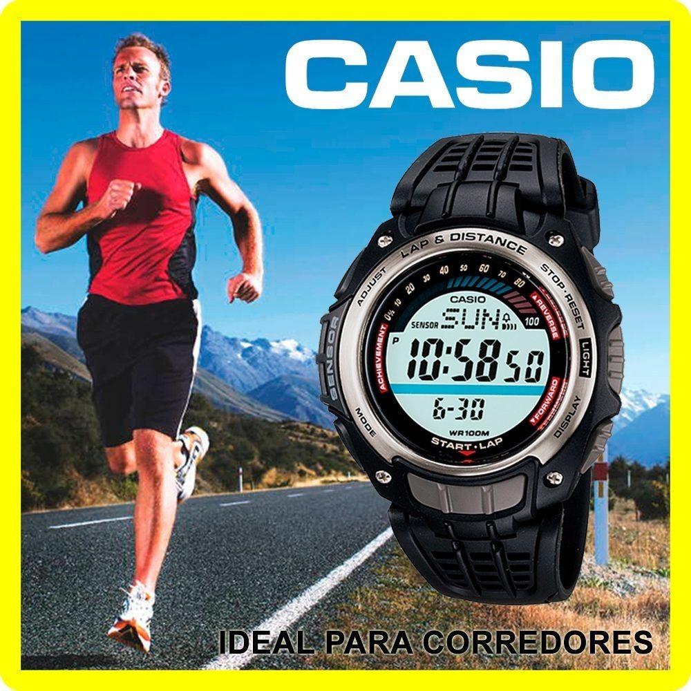 Mt Podómetro Original Garantía Runing 100 Casio® Nuevo Reloj yw8mN0Ovn