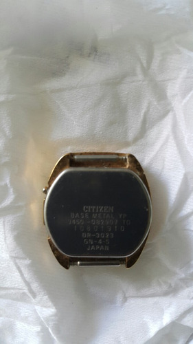 reloj original citizen quartz seven vintage made in japon