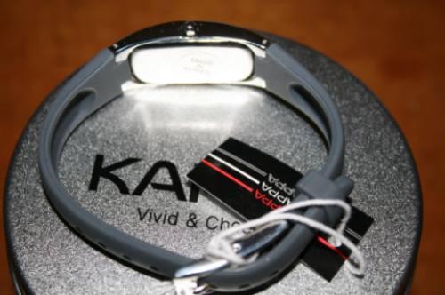 reloj original kappa ir628e / dama / goma negra / sport dvn
