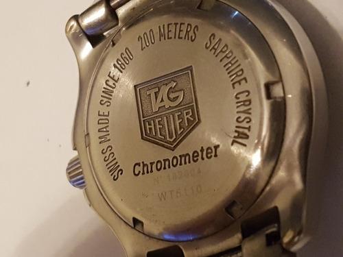 reloj original tag heuer link chronometer