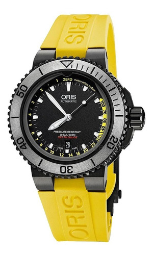 reloj oris aquis depth gauge 73376754754 tienda oficial