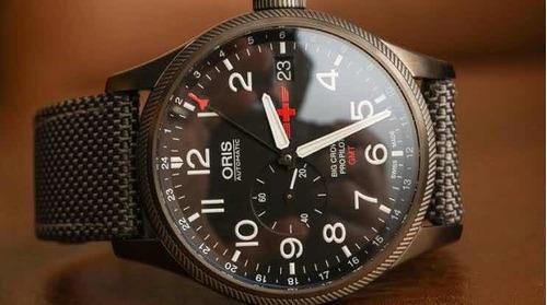 reloj oris big crown edición rega