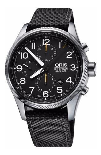 reloj oris big crown propilot chronograph 77476994134