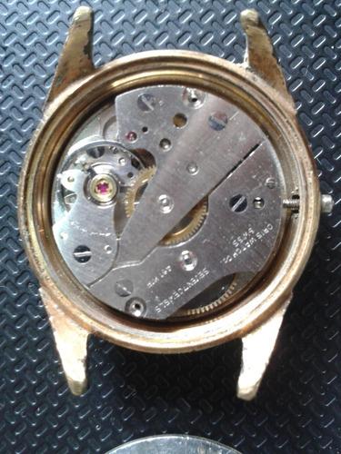 reloj oris de oro 7 joyas de dama (antiguo-colección)