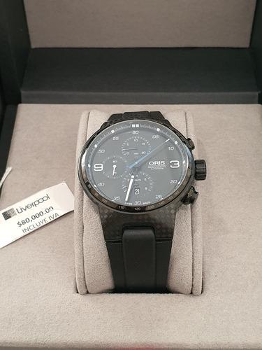 reloj oris williams fibra de carbono