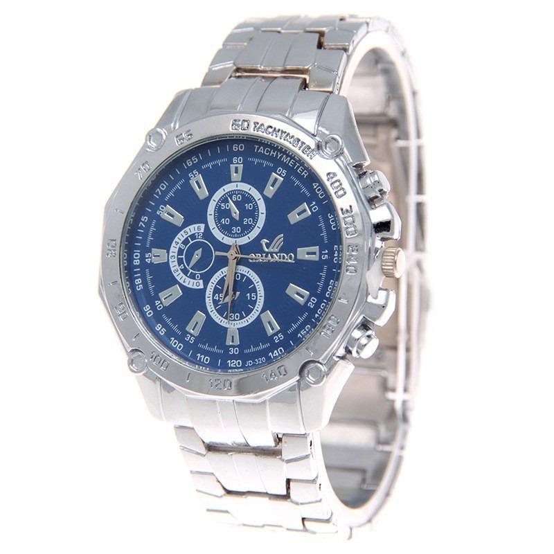 df8ef99fc0b9 reloj orlando cuarzo relojes originales acero hombre pulsera. Cargando zoom.