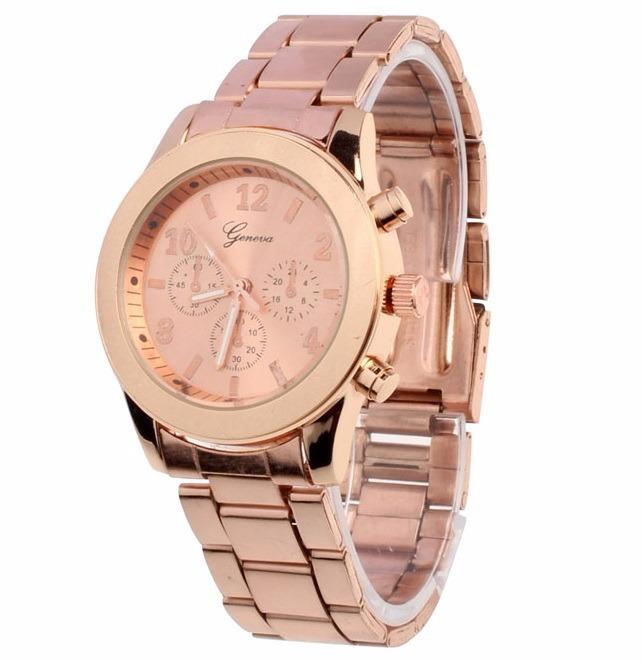 3f4f088a7a Reloj Oro Rosa Mujer Anillo Accesorios Joyas Pulsera Navidad - S/ 99 ...