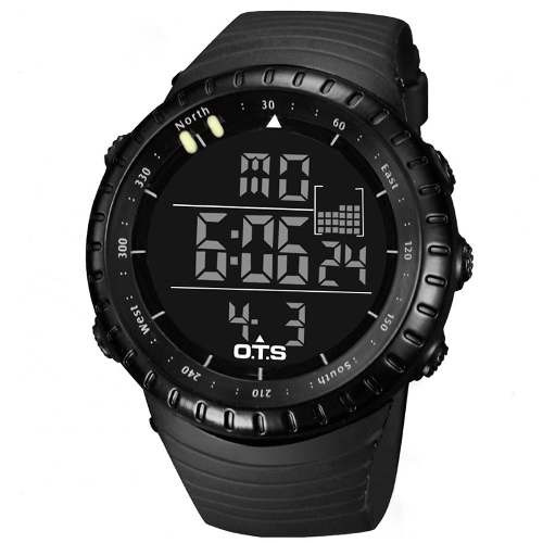reloj ots deportivo - casual, 50mts bajo agua impecable!!!
