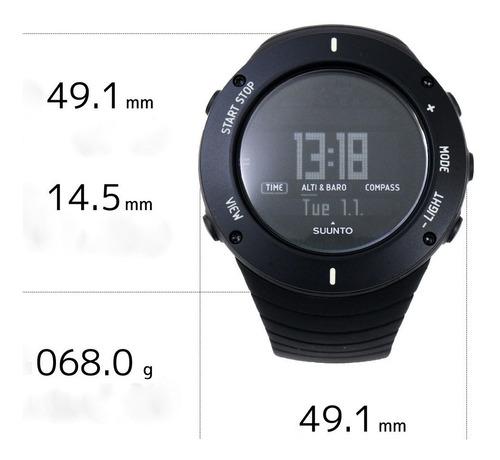 reloj outdoor hombre, ideal caminatas, trekking, by suunto.