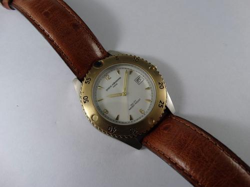 reloj paco rabanne quartz acero nautico calendario garntía