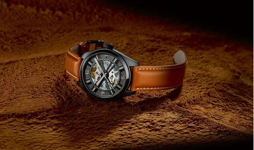 reloj para caballero hamilton khaki field h72585535 café