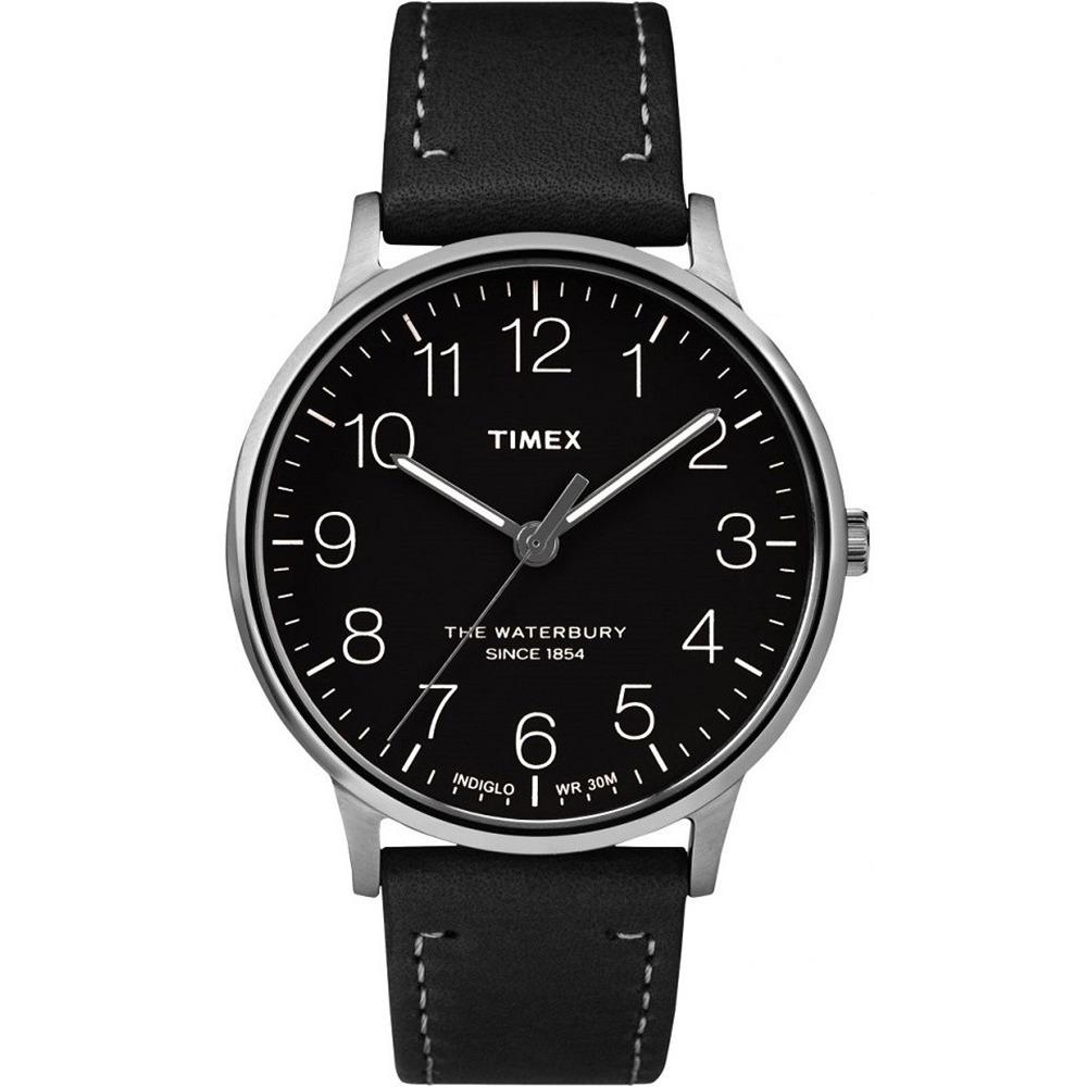 5bd9e3a85733 reloj para caballero timex color plata con negro. Cargando zoom.