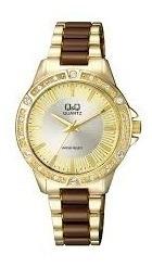 reloj para dama con un lindo diseño q&q original
