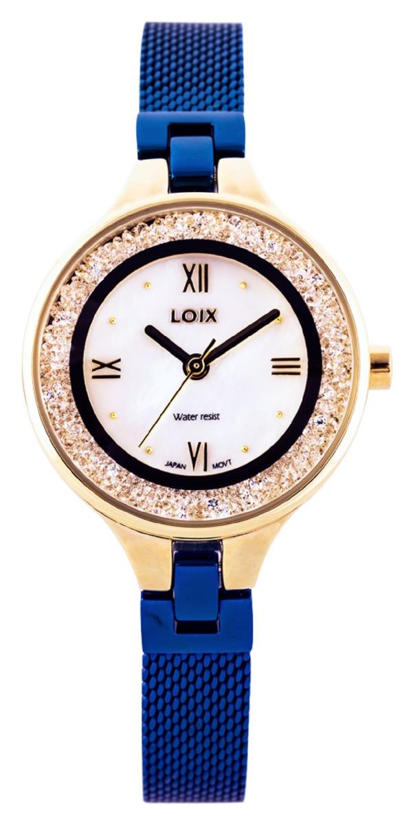 61d13ed3ee41 Reloj Para Dama Marca Loix Ref L 1120-03 Azul -   149.900 en Mercado ...