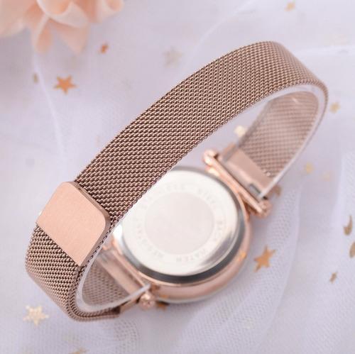745630e89992 Reloj Para Dama Mujer Bisuteria Relojes Moda Metlico Oro Ros ...