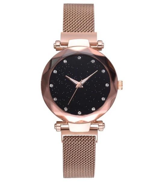 0c4a67a1f62d Reloj Para Dama Mujer Bisuteria Relojes Moda Oro Rosado -   299.00 ...