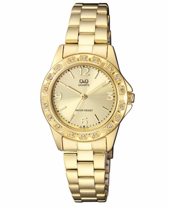 65a06740f21e reloj para dama q q modelo q981j003y pulso acerado original. Cargando zoom.